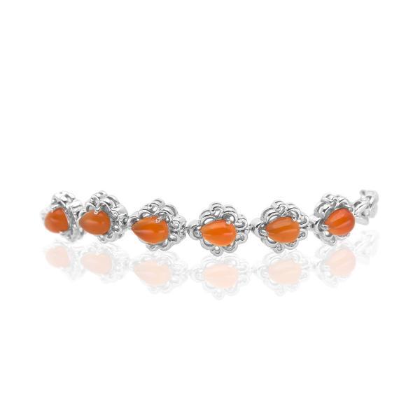 Bracelet opale argent Anastasia