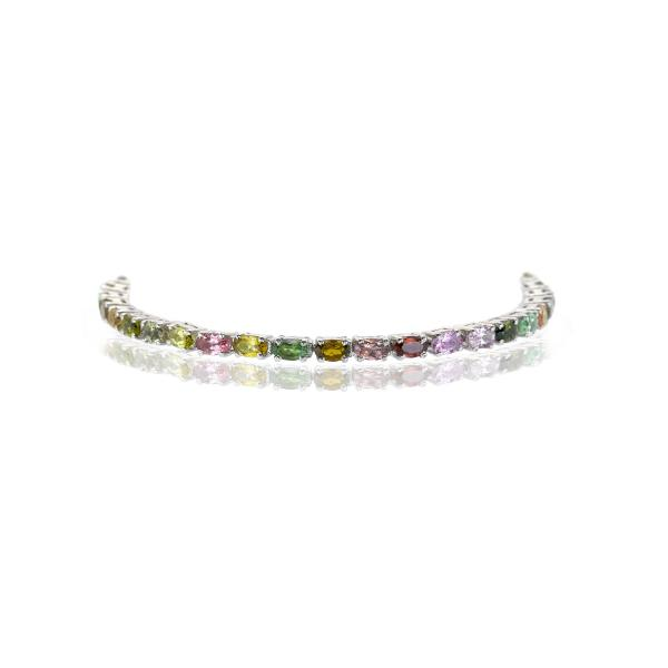 Bracelet tourmaline argent Felicity