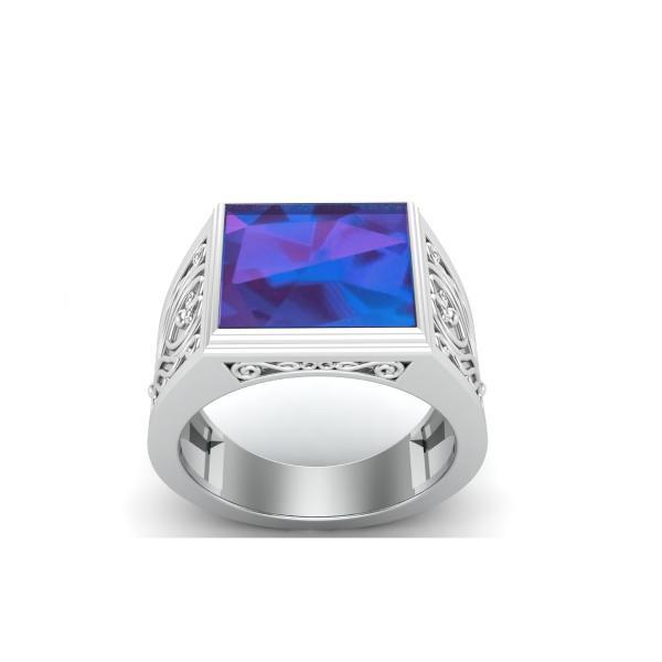 Bague lapis lazuli argent Raja