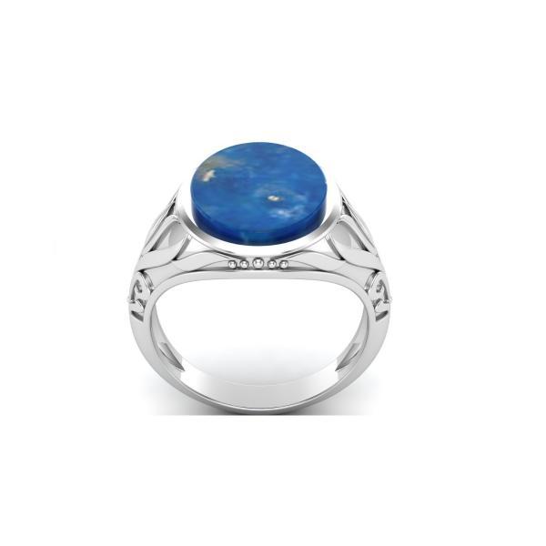Bague lapis lazuli argent Baba