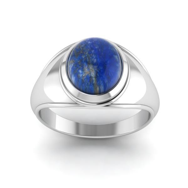 Bague lapis lazuli argent Milos